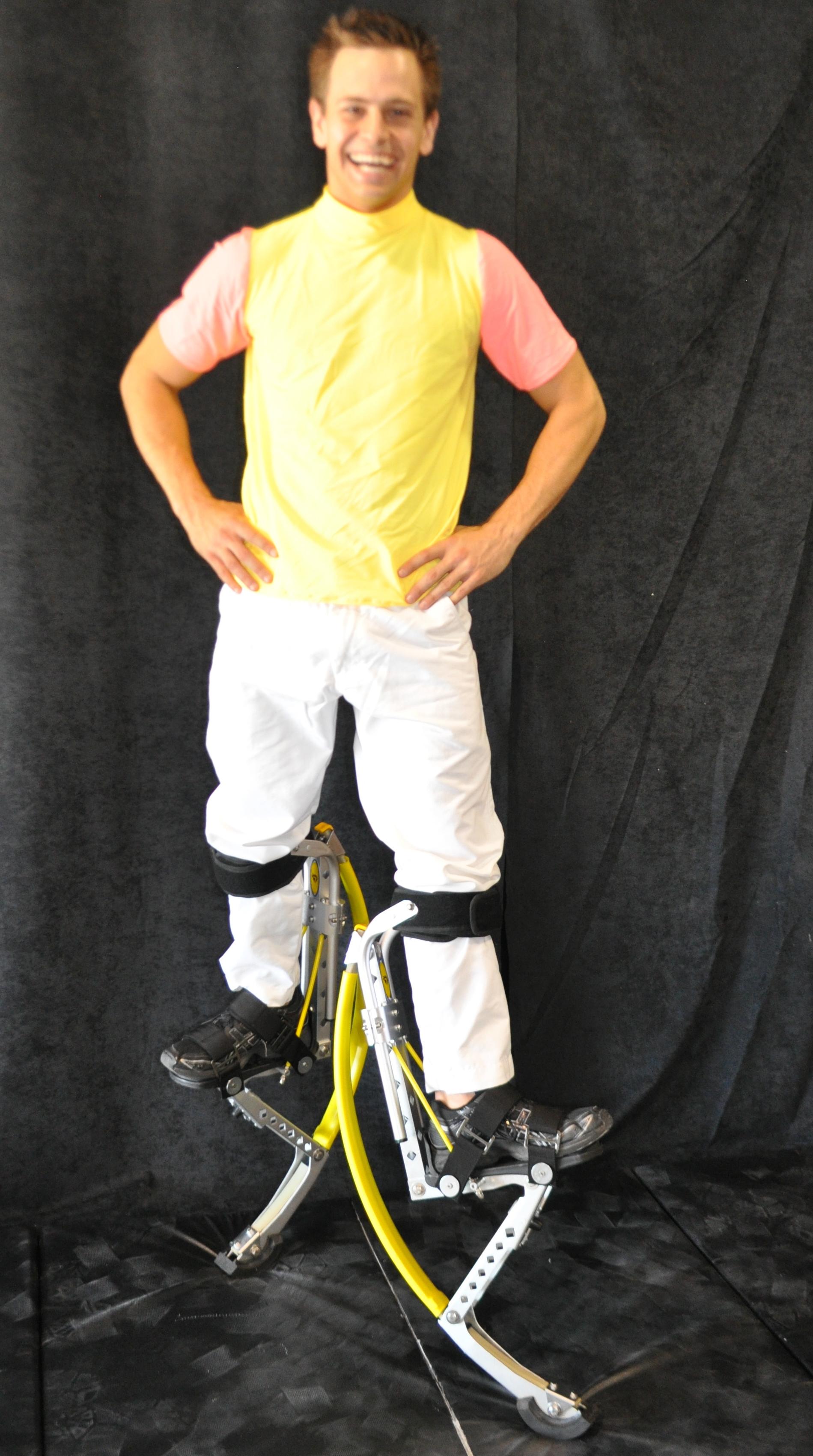 Yellow top costume