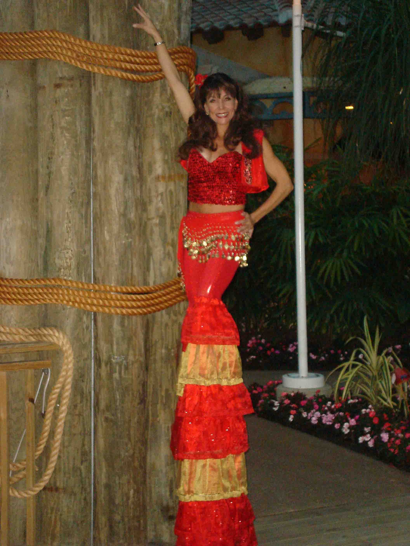 Fiesta stilt walker