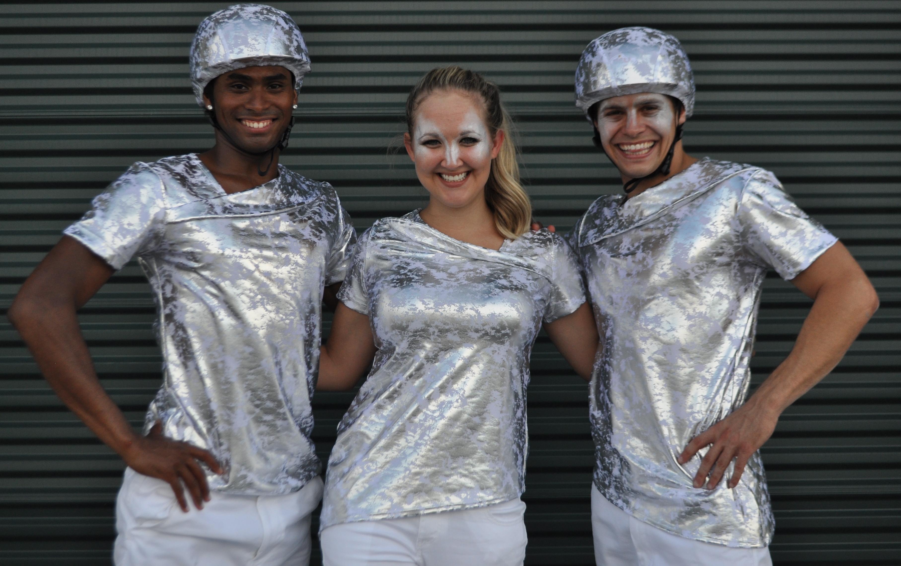 Silver costume