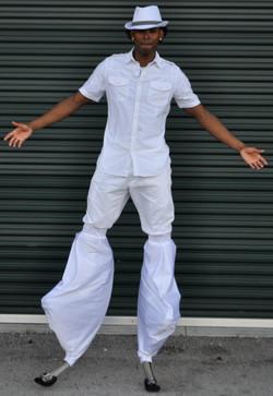 All white v2 costume