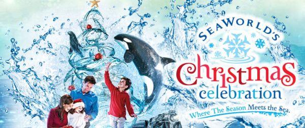 SeaWorld Christmas Logo