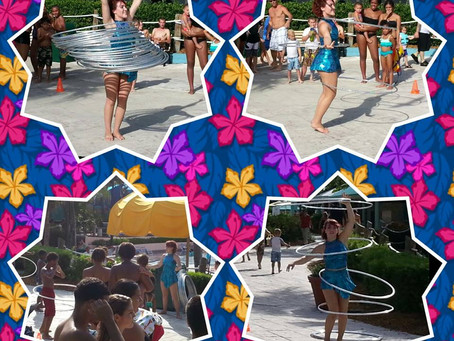 Odd-O-Ts' & Fight or Flight Productions were partying all summer at the theme parks!