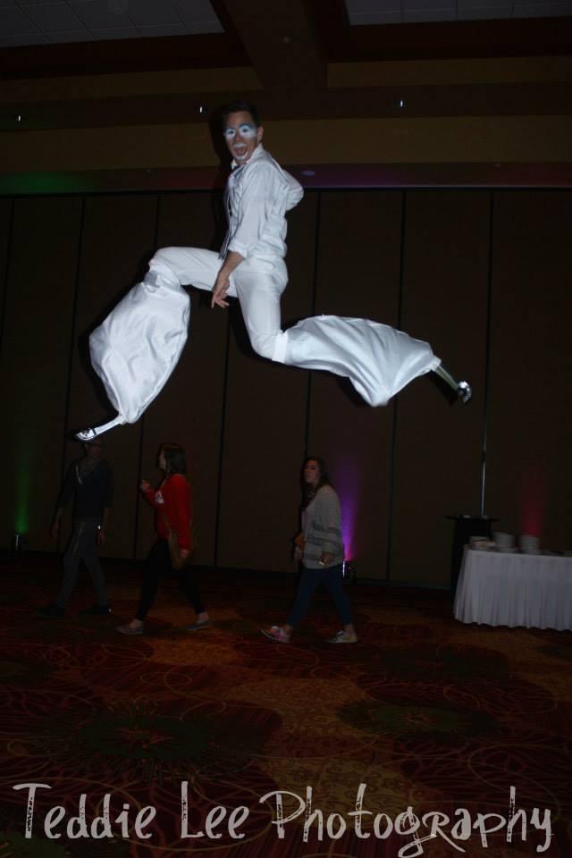 All white costume