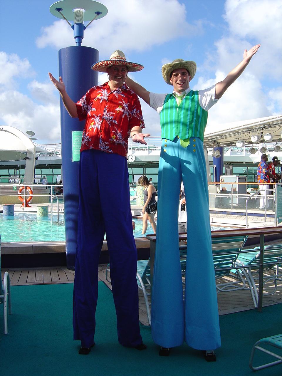 Caribbean ship/tacky tourists