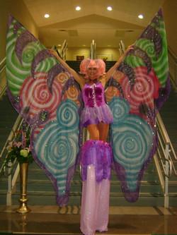 Fairy stilt walker
