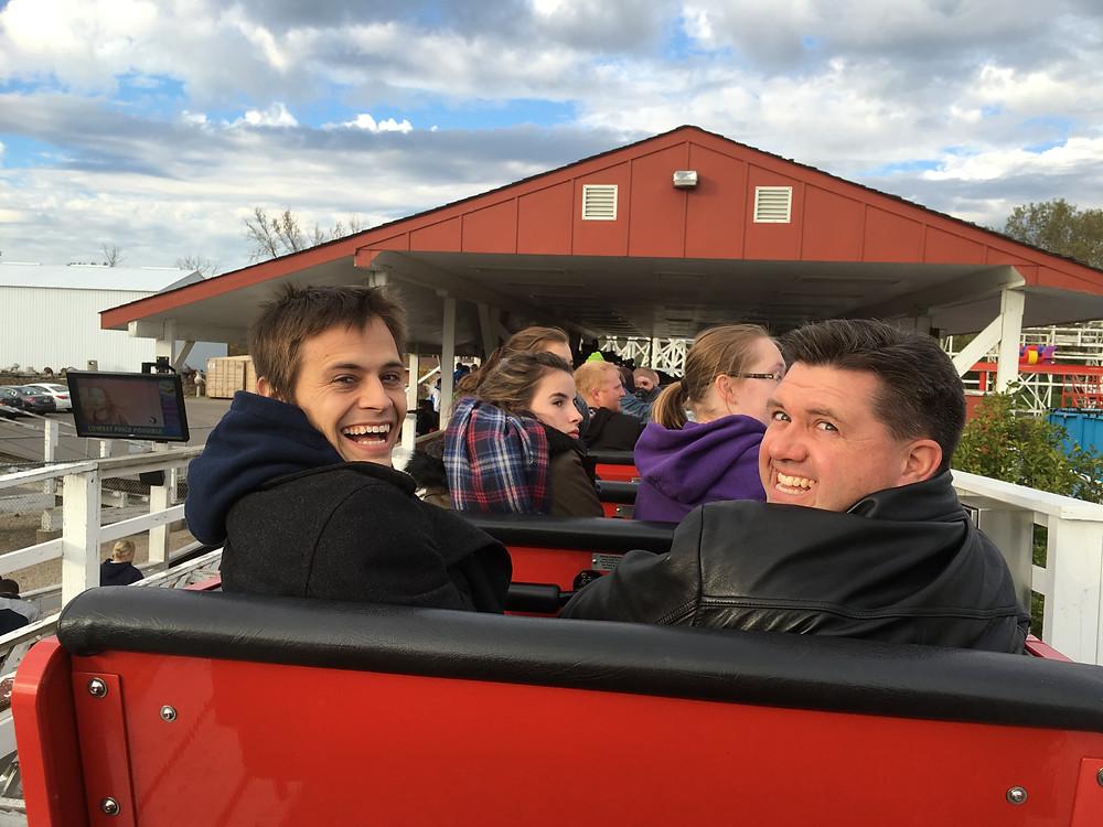 Valleyfair Roller Coaster