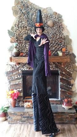 Witch stilt walker