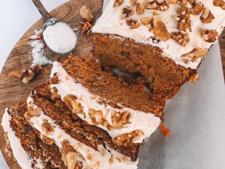 GF & DF Carrot Cake Loaf