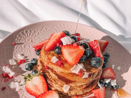 GF & DF Vanilla Protein Pancakes