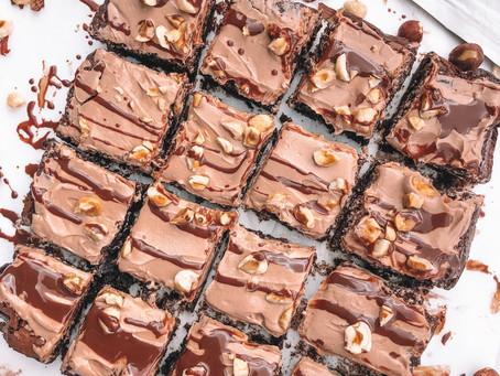 GF & DF Fudge Hazelnut Brownies
