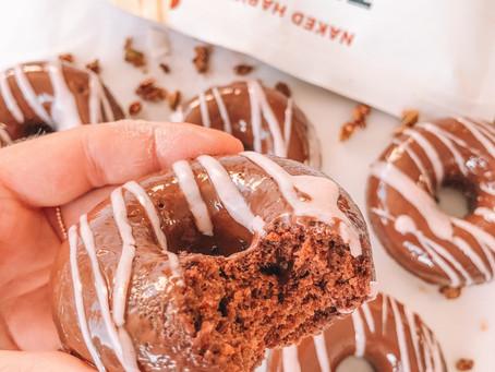 Vegan & GF Triple Choc Donuts