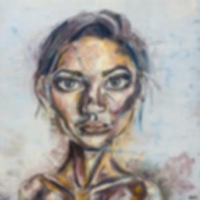 oil panting, portrait