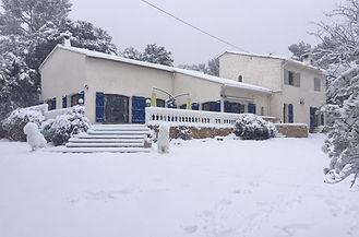 Le Domaine des Danjean sous la neige