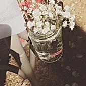 Petites fleurs champêtres pour un mariage authentique