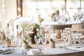 Repas de mariage au Domaine des Danjean