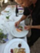 Repas Chef Domaine des Danjean