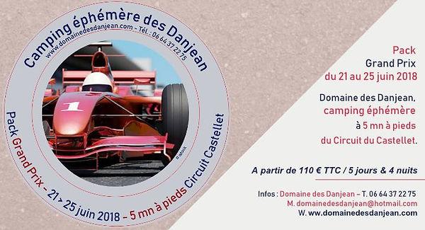 Camping circuit Castellet Grand Prix 2018