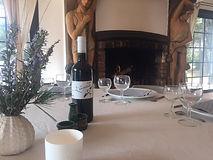Repas entre amis au Domaine des Danjean
