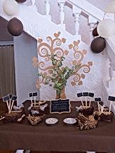 Arbre de vie et petits cadeaux pour les invités