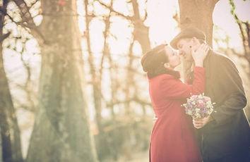 Mariage en hiver au Domaine des Danjean et séance photo