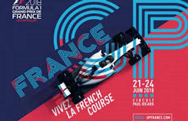 Camping Grand Prix de France F1 Circuit Castellet
