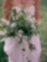 Bouquet champêtre pour une mariée du Domaine des Danjean