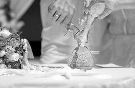 Rituel du sable, mariage et cérémonie laïque