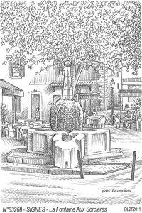 Fontaines au sorcières Signes