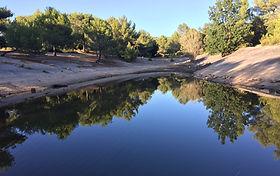 Lac à proximité du Domaine des Danjean