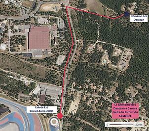 Domaine des Danjean Camping à 5 mn à pieds du Grand Prix de France de Formule 1, Circuit du Castellet