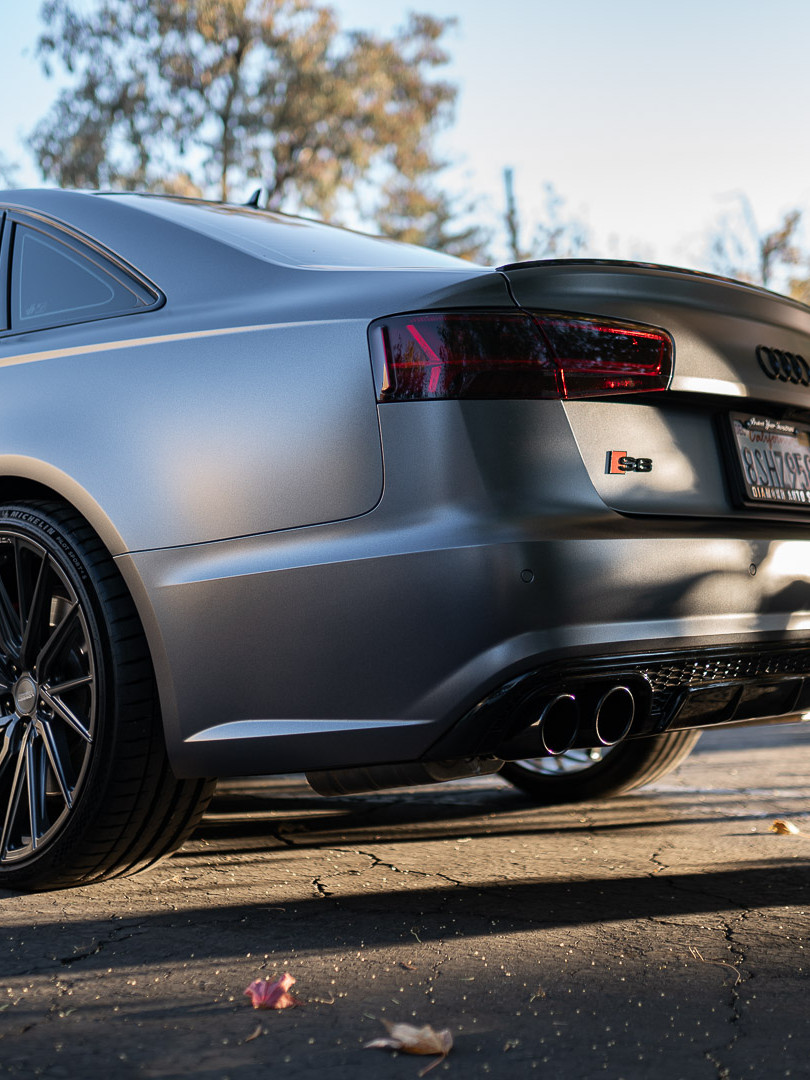 Audi S6 Satin Dark Grey