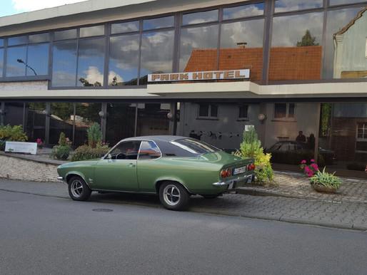 Besuch Parkhotel 1970 Marion & Alex