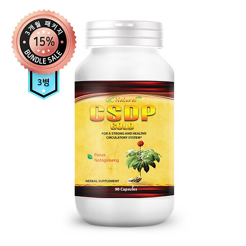 CSDP Gold (3 Bottles)