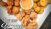 Try our sampler plate