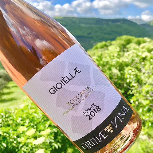 🇮🇹 2020 GIOIÈLLÆ Rosato IGT Toscana. 1 (one) bottle. 0.75L