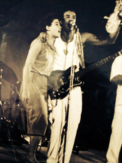 Mit Jorge Ben in Mexiko 1985