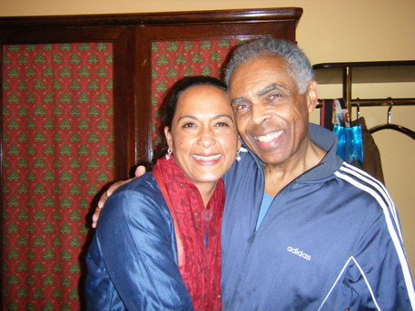 Mit Gilberto Gil