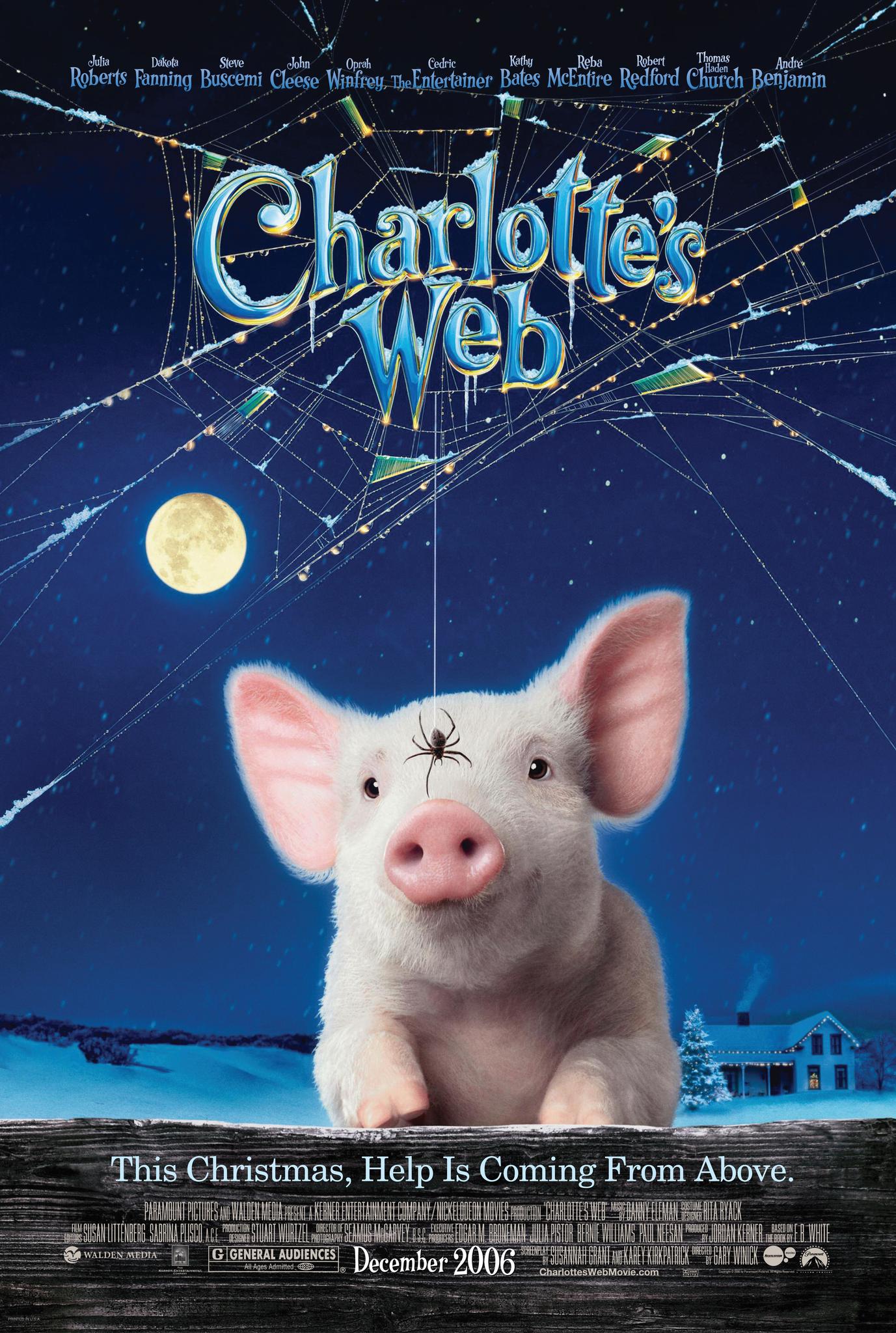 FAMILY FILM: CHARLOTTE'S WEB (U)