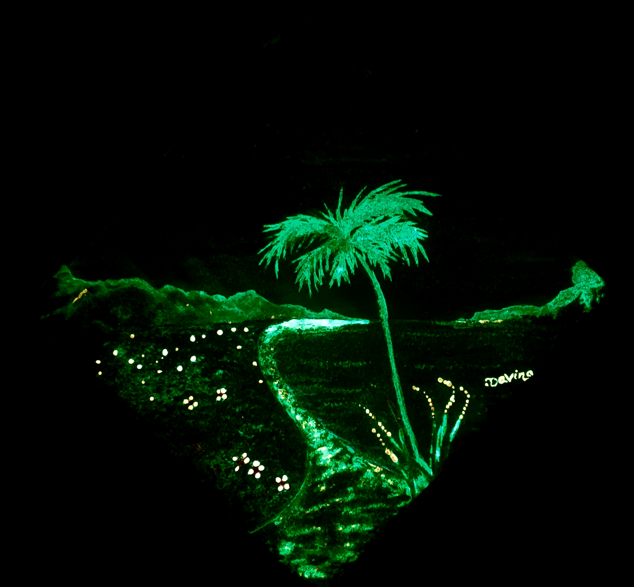 Glow in the Dark Aloha Glow Dark