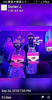 Paint and Glow Yelp Review 1