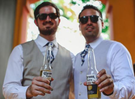 ¿Cómo mantenerse sobrio en la fiesta de bodas?