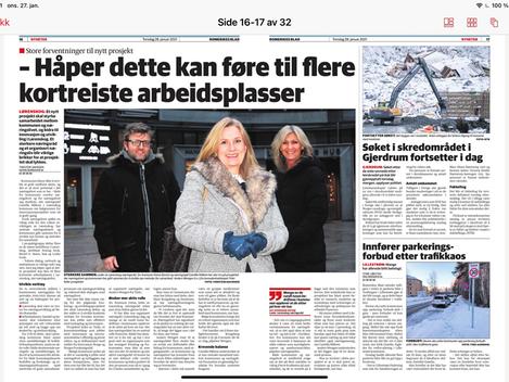 Samarbeid mellom Lørenskog Kommune og næringslivet