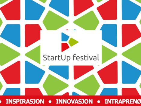 6. – 8. oktober arrangeres StartUp Festivalen 2020