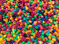 Plastic free beads! We use beads in a fe