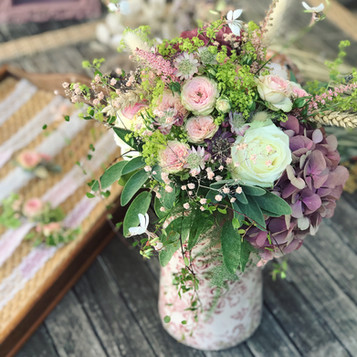 Bouquet mariage champêtre