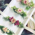 Bracelets de fleurs mariage