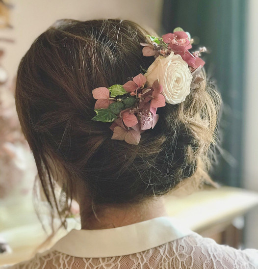 Peigne à cheveux mariage
