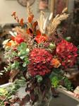 Bouquet mixte fleurs fraiches et séchées dried flower pampa, hortensia, queue de lièvr etc