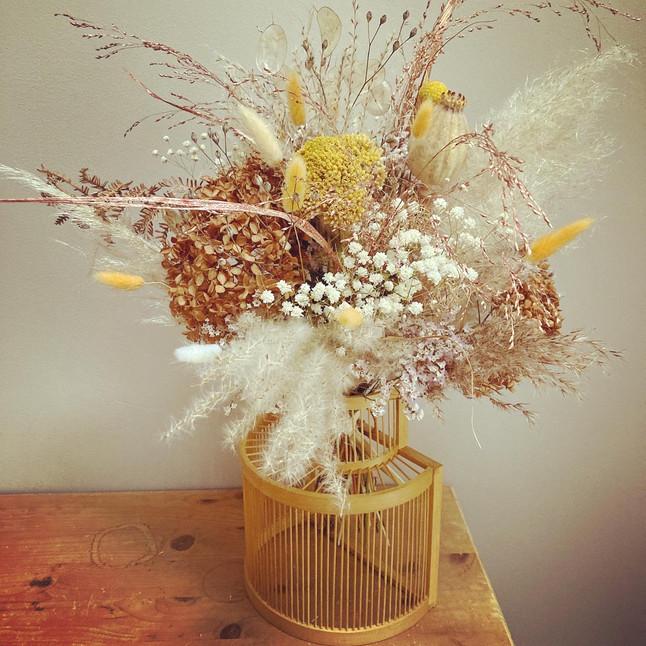 Bouquet fleurs séchées dried flowers