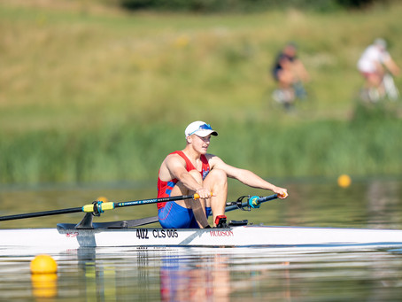 Rowing Student Receives National Medal!